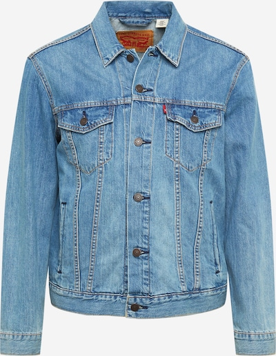 LEVI'S Overgangsjakke 'THE TRUCKER' i blue denim, Produktvisning