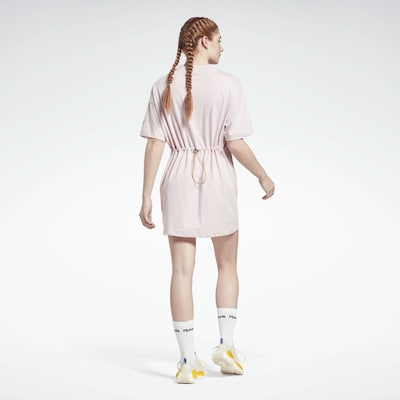 REEBOK Sportkleid in gold / hellpink / weiß, Modelansicht