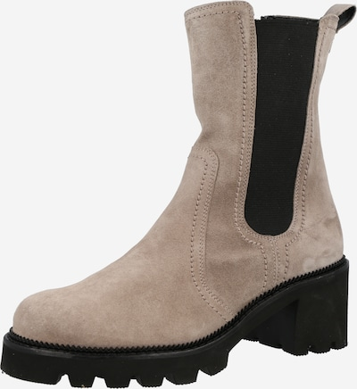 Paul Green Chelsea Boots en gris / noir, Vue avec produit