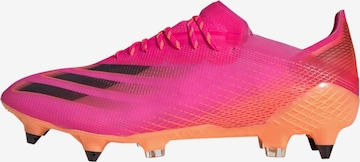 ADIDAS PERFORMANCE Soccer Cleats 'X Ghosted.1 SG' in Pink