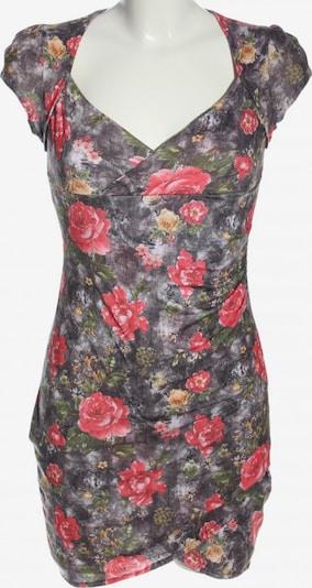 Club L Minikleid in M in hellgrau / grün / pink, Produktansicht