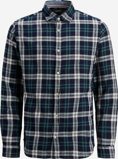 JACK & JONES Overhemd in de kleur Blauw / Groen, Productweergave