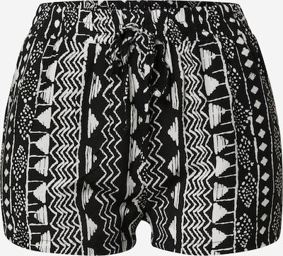 Hailys Pantalon 'Rachel' en noir / blanc, Vue avec produit
