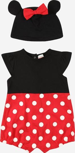 OVS Set en rouge / noir / blanc, Vue avec produit