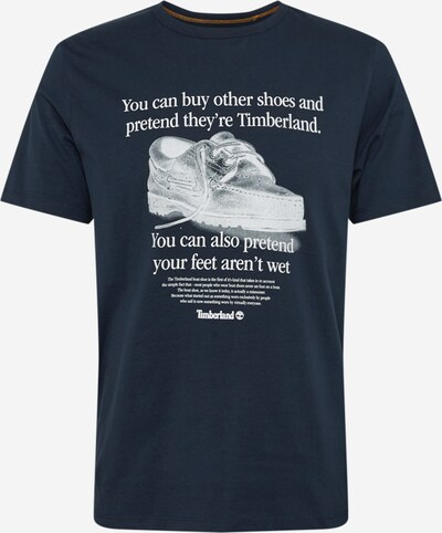 TIMBERLAND Shirt 'Arch Front' in de kleur Saffier / Wit, Productweergave