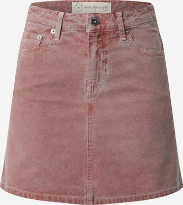 MUD Jeans Rok 'Sophie' in Roze