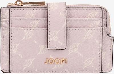 JOOP! Kreditkartenetui 'Cortina Gini' in pastelllila / weiß, Produktansicht