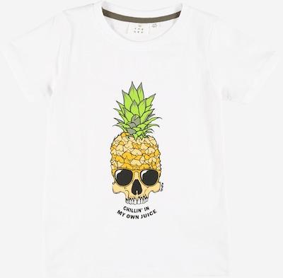 The New T-Shirt  'UMUT' in gelb / grün / schwarz / weiß, Produktansicht