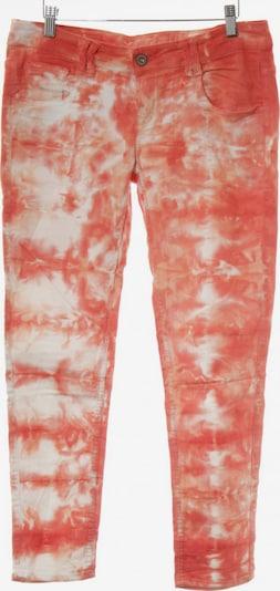 Tigerhill Slim Jeans in 30-31 in apricot / hellrot / weiß, Produktansicht