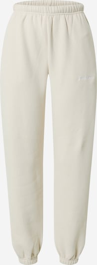 Worst Behavior Pantalon 'Faith' en beige / blanc, Vue avec produit