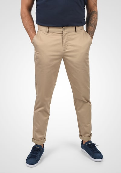 Casual Friday Chinohose in beige / sand, Modelansicht