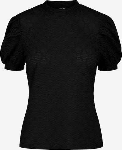Tricou 'Gloria' PIECES pe negru, Vizualizare produs