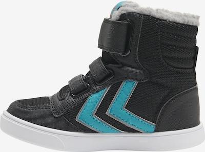 Hummel Stiefel in hellblau / schwarz, Produktansicht
