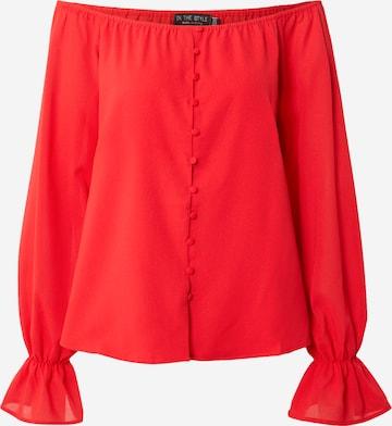 In The Style Pluus 'JAC JOSSA', värv punane