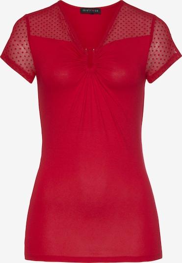 MELROSE T-Shirt in rubinrot, Produktansicht