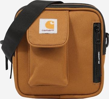 Carhartt WIP Olkalaukku 'Essentials' värissä ruskea
