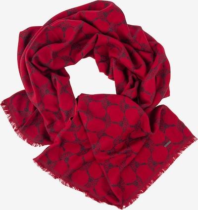 JOOP! Sjaal in de kleur Grijs / Rood, Productweergave