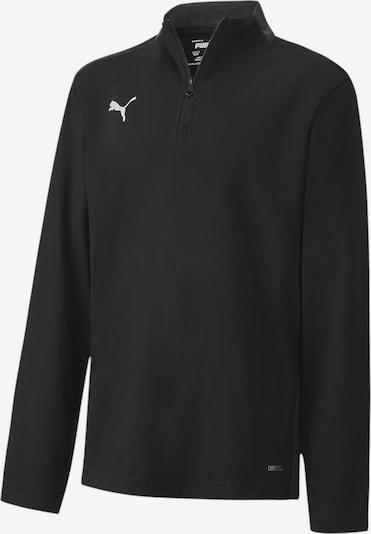 PUMA Sweatshirt in schwarz: Frontalansicht