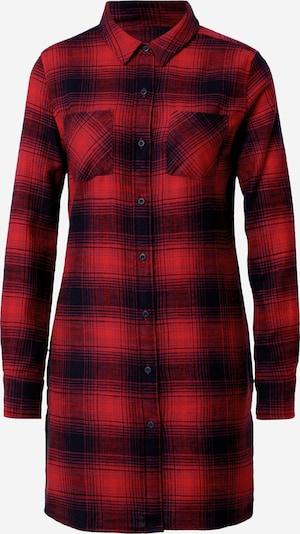 Urban Classics Robe-chemise en bleu / rouge, Vue avec produit