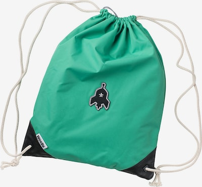 WeeDo Tas in de kleur Neongroen / Zwart, Productweergave