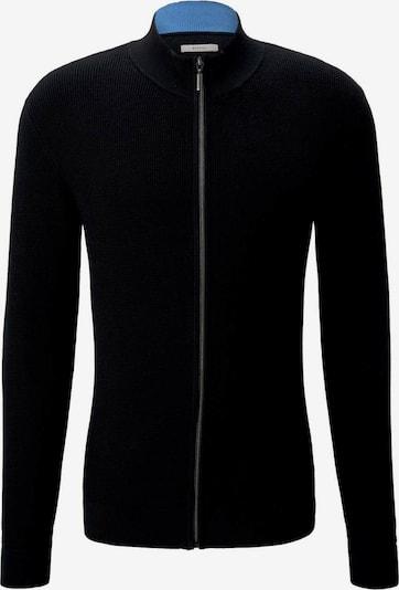 TOM TAILOR Vestes en maille en noir, Vue avec produit