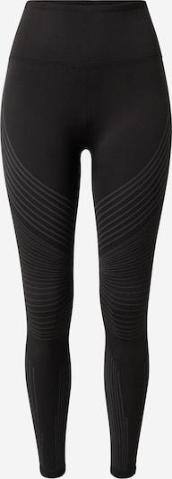 REEBOK Sports trousers in grey / black, Item view