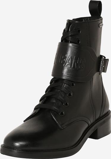 Pepe Jeans Bottines à lacets 'Maldon' en noir, Vue avec produit