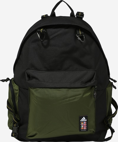 ADIDAS PERFORMANCE Sports backpack in olive / black, Item view