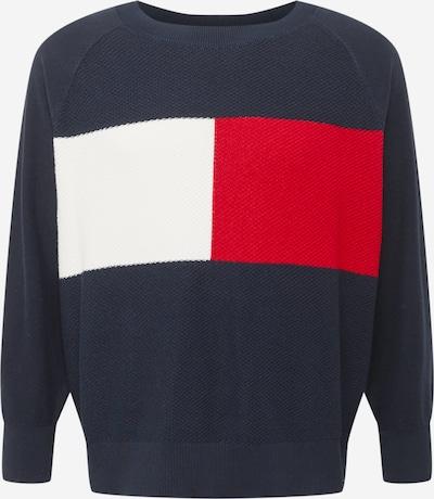 Tommy Hilfiger Curve Sweatshirt in de kleur Donkerblauw, Productweergave