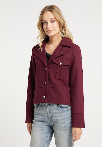 DreiMaster Vintage Blazer in dunkelrot, Modelansicht