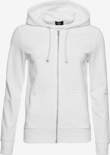 Superdry Sweatjacke in weiß, Produktansicht