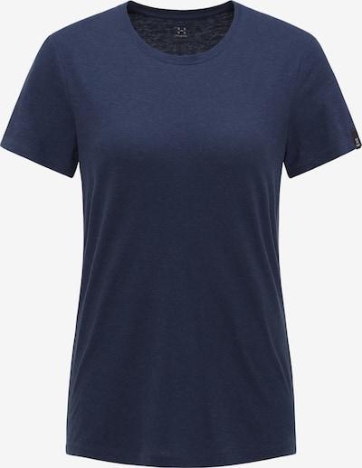 Haglöfs Functioneel shirt 'Träd' in de kleur Donkerblauw, Productweergave