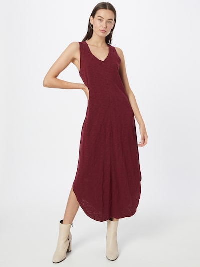 GAP Kleid in weinrot, Modelansicht