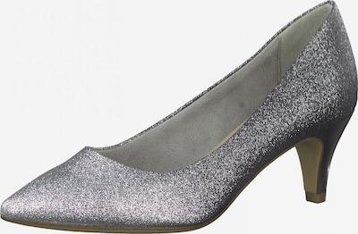 TAMARIS Čevlji s peto | srebrno-siva barva, Prikaz izdelka