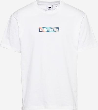 ADIDAS ORIGINALS T-Shirt 'Summer Box Line' in blau / mischfarben / weiß, Produktansicht
