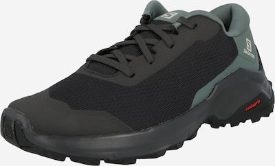 SALOMON Zapatos bajos 'X REVEAL' en gris / verde pastel / negro, Vista del producto