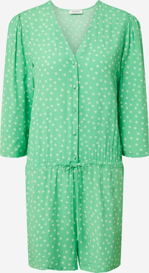 modström Jumpsuit 'Jessica' i ljusgrön / svart / vit, Produktvy