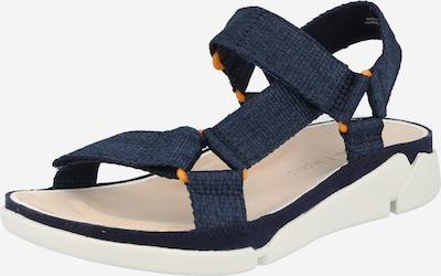 CLARKS Páskové sandály 'Tri Sporty' - námořnická modř / bílá, Produkt