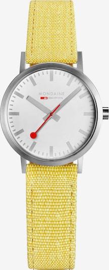 Mondaine Analog Watch ' ' in Yellow, Item view