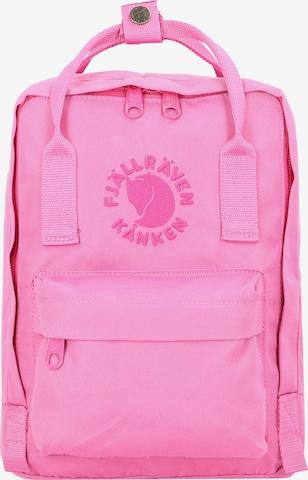 Fjällräven Rucksack 'Re-Kanken' in Pink