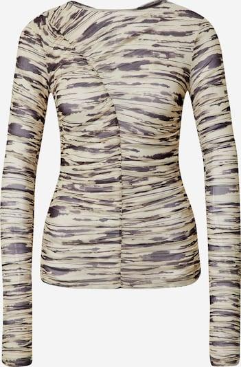 LeGer by Lena Gercke Shirt 'Silke' in grau / schwarz, Produktansicht