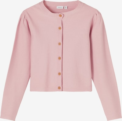 NAME IT Strickjacke 'Frida' in rosa, Produktansicht