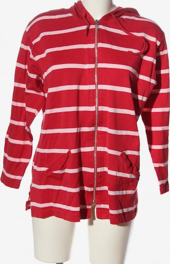 Peter Hahn Sweatjacke in L in pink / rot, Produktansicht