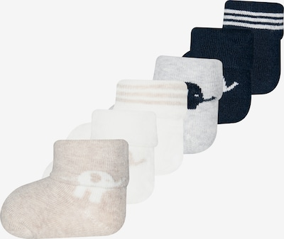 EWERS Čarape u mornarsko plava / siva / bijela, Pregled proizvoda