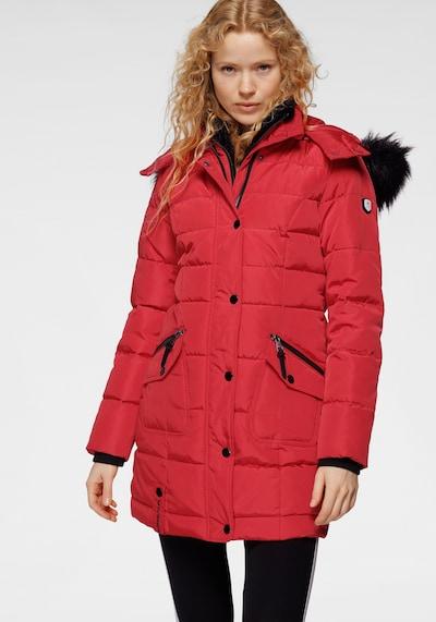 ALPENBLITZ Mantel in rot, Modelansicht