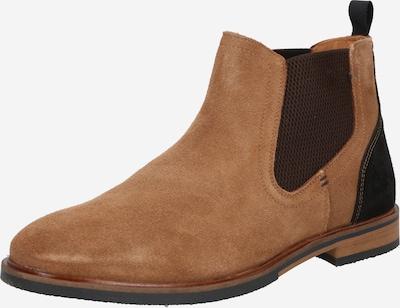 BULLBOXER Chelsea Boots in beige / schwarz, Produktansicht