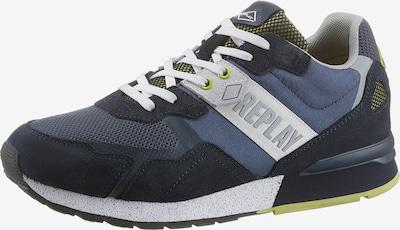 REPLAY Sneaker in navy / nachtblau / schilf / weiß, Produktansicht