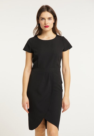 usha BLACK LABEL Kleid in schwarz, Modelansicht