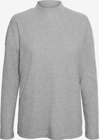 VERO MODA - Jersey 'Blossom' en gris