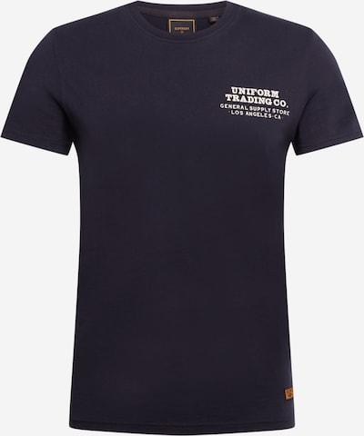 Superdry Shirt 'WORKWEAR' in de kleur Zwart / Wit, Productweergave